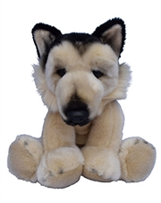 "Beverly Hills Teddy Bear 10"" Puppy Pals - Barkley the German Shepherd Dog"