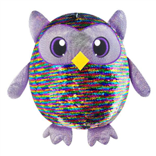 SHIMMEEZ are glittery, shimmery, two-toned, sequined plush animals. With a wave of hand or finger over the plush the sequins change color allowing you to create unique patterns and designs on the plush.