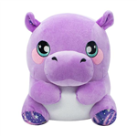Say hello to Hannah the Hippo! Hannah is a sweet, shy hippo that loves rain and always wants to cuddle with you and some nice hot chocolate