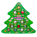 Open a new surprise everyday with this fun advent calendar! Each day features a Christmas micro squeeze toy.