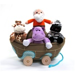 Tales of Glory Noah's Ark Pully 5pc Set. It really moves!