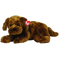 "Ty Classic 13"" Dobbs Brown Puppy"