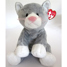 "Ty Pluffies 10"" Pursley Cat"