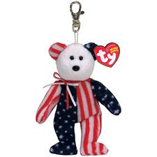 "Ty Beanie Babies 5"" Spangle Bear Clip"