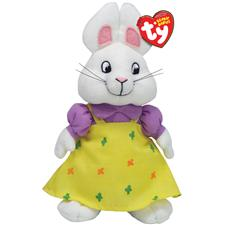 "Ty Beanie Babies 8"" Nick Jr's Max & Ruby - Ruby"