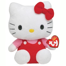 "Ty Beanie Babies 8"" Hello Kitty"