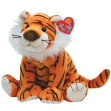"Ty 2.0 Beanie Babies 8"" Oasis Tiger (disc)"