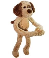 Beverly Hills Teddy Bear 'Brownie' - Piggyback Pals (Dog)