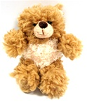 World's Softest Teddy Bears - Tan Moe 5""