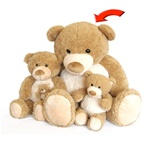 World's Softest Teddy Bears - Tan Moe 36""